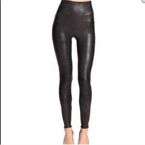 Spanx High Rise Faux Leather Leggings